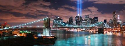 New York City Manhattan panorama Royalty Free Stock Photos