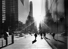 New- York Citybürgersteig Stockbilder