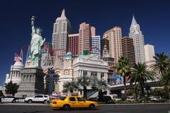 New York in Las Vegas Stock Foto's