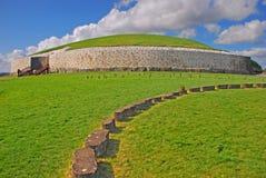 Newgrange prehistoric monument in County Meath Ireland Royalty Free Stock Images