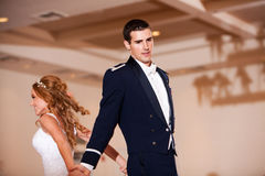 Newlywed Dance Stock Photography