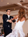 Newlywed First Dance Royalty Free Stock Photography