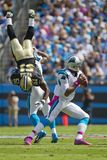 NFL:  Oct 09 Saints Vs Panthers Royalty Free Stock Photography