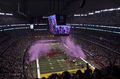 NFL Superbowl Football Champions, Confetti Blast Royalty Free Stock Image