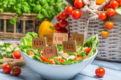 Nice looking food can have preservatives Stock Photos