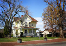 Charming Historical Farm Home Royalty Free Stock Photo