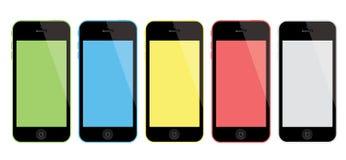 Nieuwe Apple-iPhone 5C Royalty-vrije Stock Fotografie