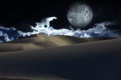 Night Desert Royalty Free Stock Photos