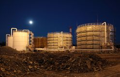 Reservoir oil Royalty Free Stock Photo