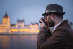 Night photography Royalty Free Stock Photography