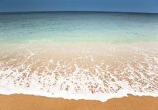 Nightfall beach Royalty Free Stock Photo