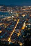 Nightfall in Santurtzi Royalty Free Stock Image