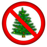 No christmas for you! Stock Photo