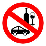 No drink and drive Stock Photo