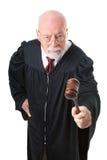 Nol Nonsense Skeptical Judge Stock Images