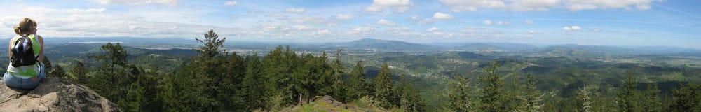 Northwest Valley Panorama Stock Photos