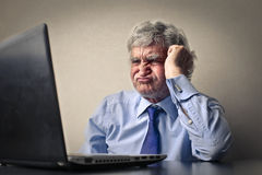 Not wanting to work Stock Photos