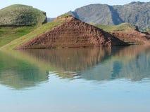 Nurek reservoir Stock Photos