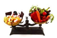 Nutrition balance Stock Photo