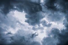 Nuvole di tempesta Fotografie Stock Libere da Diritti