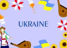 O molde de Ucrânia Fotografia de Stock