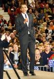 Obama spreekt aan Arizona Stock Afbeelding