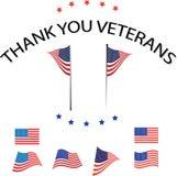 Obrigado veteranos Foto de Stock