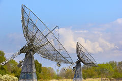 Observatory for Solar Radio Astronomy Stock Image