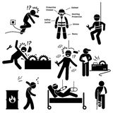 Occupational Safety and Health Worker Accident Hazard Pictogram Clipart Stock Photography