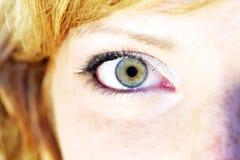 oczy kobiety Obrazy Stock