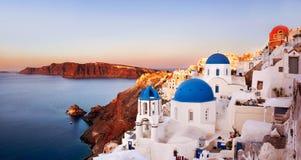 Oia, Santorini Grecia Immagini Stock Libere da Diritti