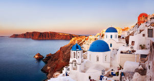 Oia, Santorini Greece Royalty Free Stock Images