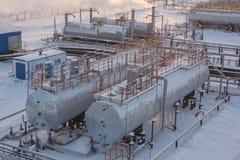 Oil reservoir Stock Photography