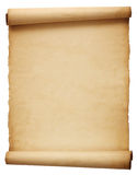 Old antique scroll paper Stock Photo