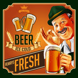 OLD BEER Stock Image