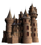 Old castle with towers Stock Photo