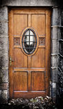 Old dirty door Stock Images
