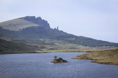 Old man of storr isle of skye highlands scotland Royalty Free Stock Image