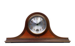 An Old Mantle Clock Stock Photo