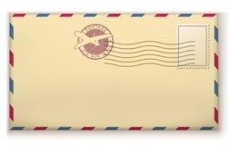 Old postage envelope Royalty Free Stock Photo