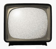 Old Retro TV noise Royalty Free Stock Photo