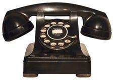 Old Retro Vintage Rotary Phone, Telephone Isolated Royalty Free Stock Photo