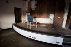 Old room with chair Royalty Free Stock Photos