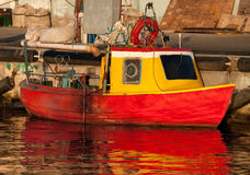 Old small fishing boat Royalty Free Stock Photo