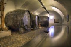 Old vine cellar Stock Photos