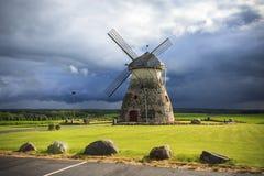 Old windmill Stock Photo