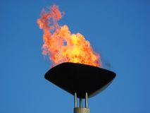 Olympic torch Stock Photography