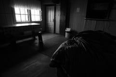 Omu Shelter Black And White Royalty Free Stock Photography