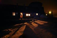 Omu Shelter At Night Stock Photo
