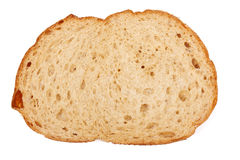 One slice of brown bread Stock Photography